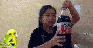 Кока кола плюс Ментос